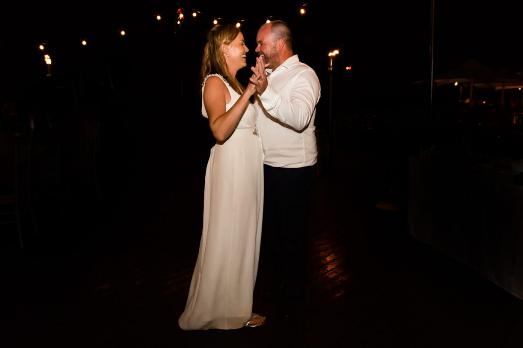 first dance at Cable Beach Club wedding