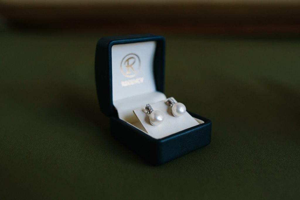 Broome wedding earrings