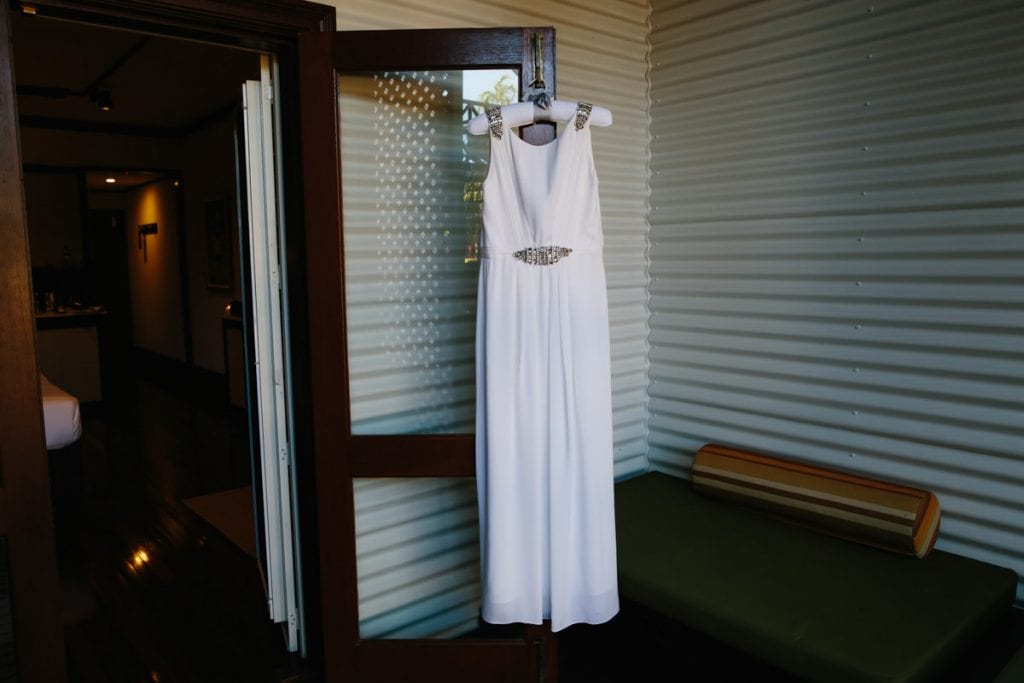 Broome wedding dress