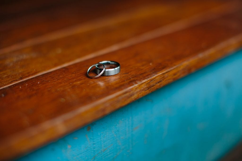 Broome wedding rings