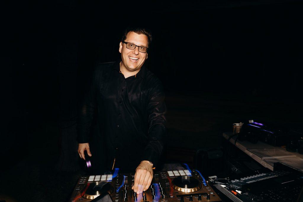 DJ Adrian is on the decks at Broome wedding