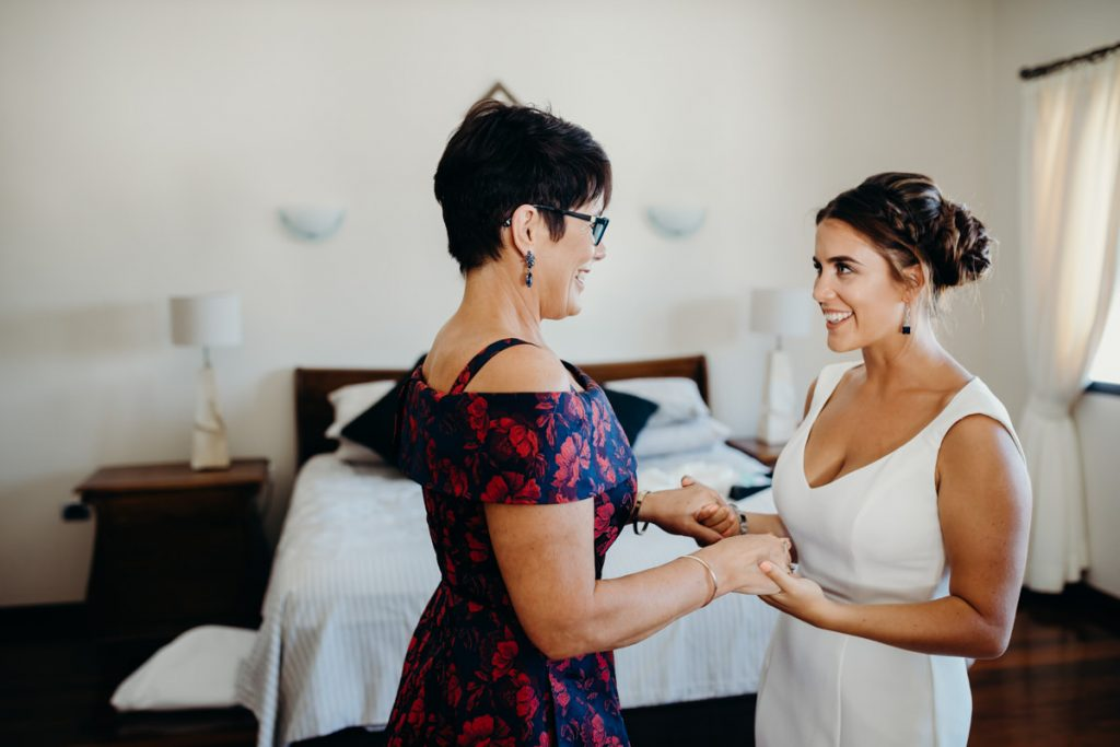 mother and daughter Broome wedding photographer
