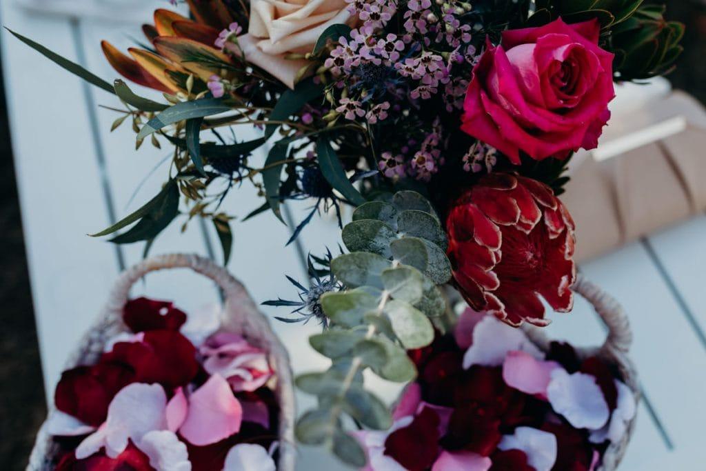 flowers Broome wedding photographer