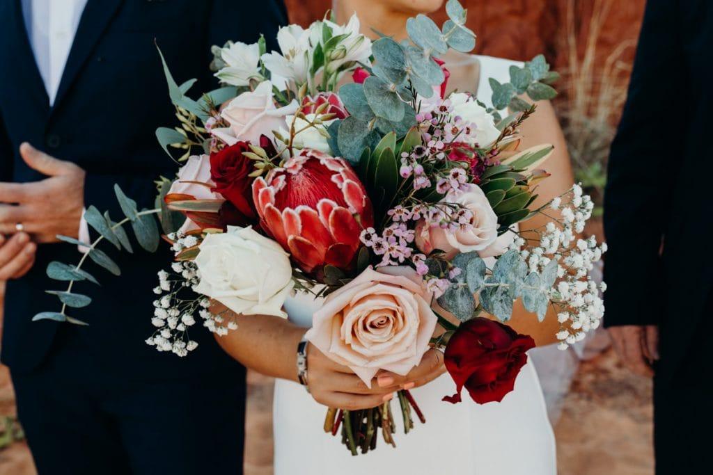 gorgeous native Australian flower bouquet