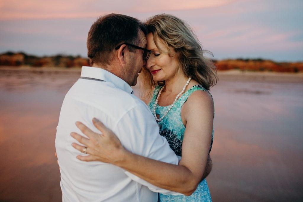 Broome beach wedding at Riddell Beach
