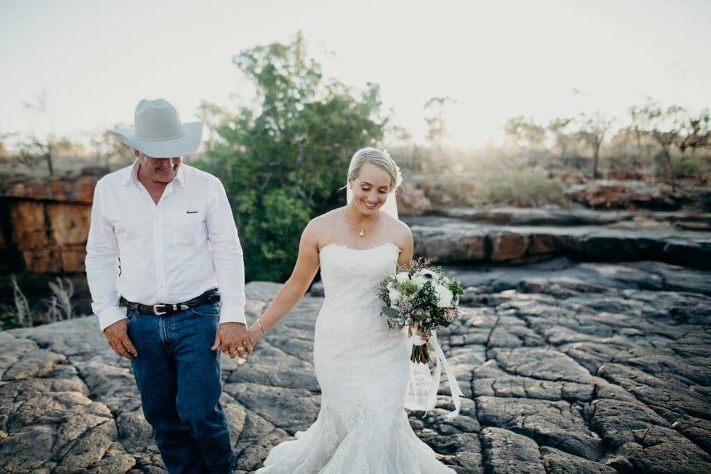 Cattle station Kimberley wedding
