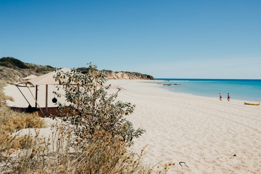 Eco Beach with beach shelter