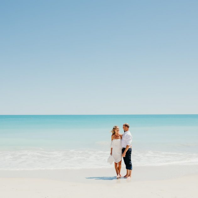 Broome elopement wedding at Cable Beach