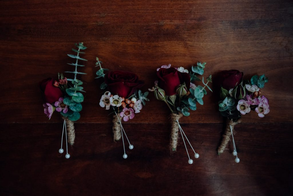 flower boutonnieres by Broome Florist