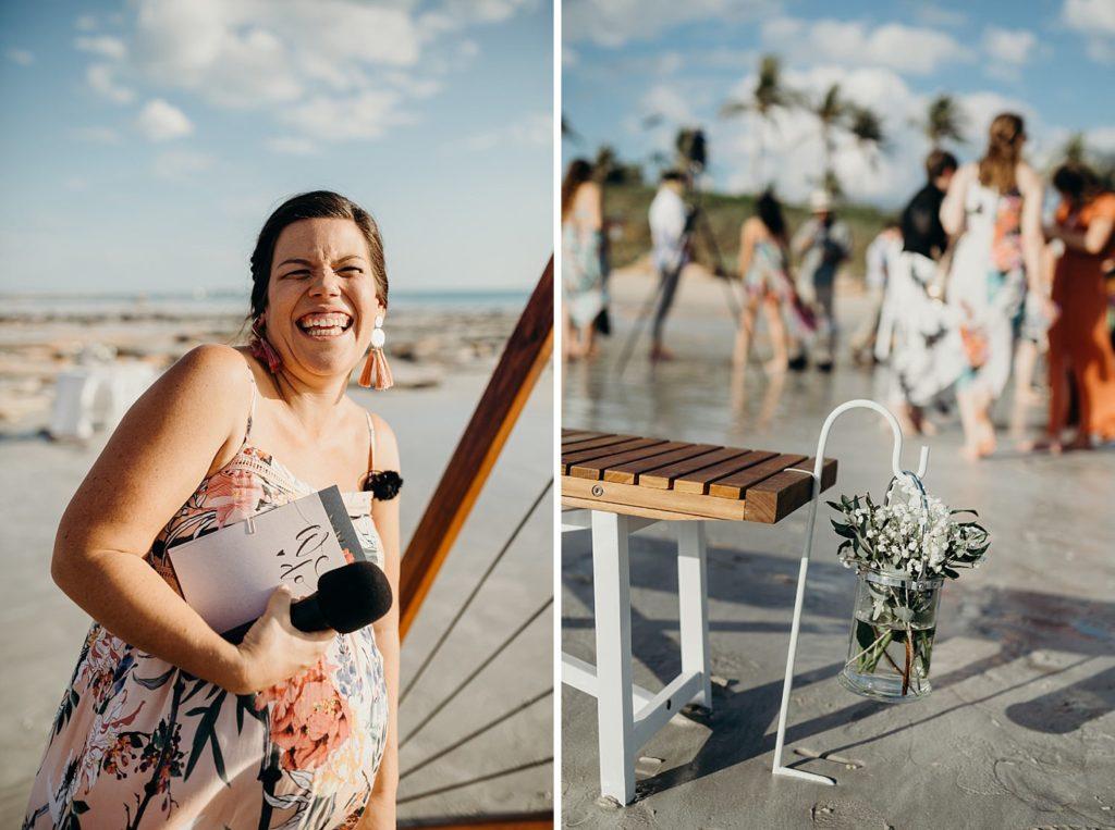 Elle Saunders Broome marriage celebrant
