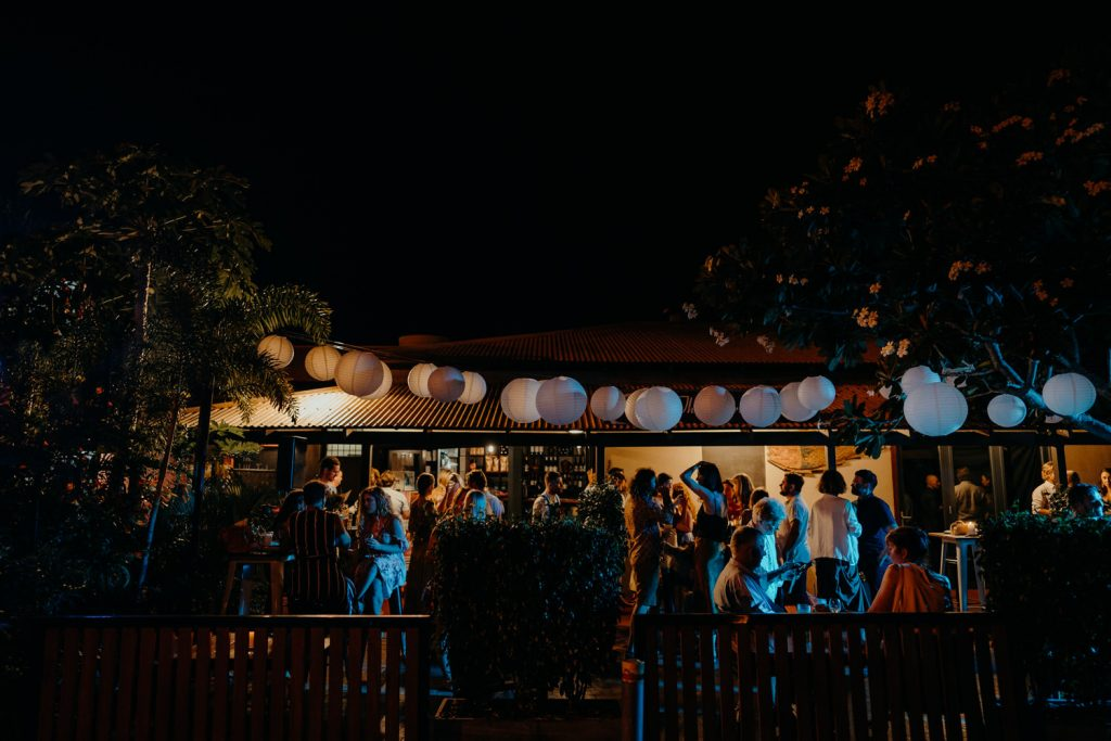 Aarli Bar in Broome as wedding reception venue for Gantheaume Point wedding