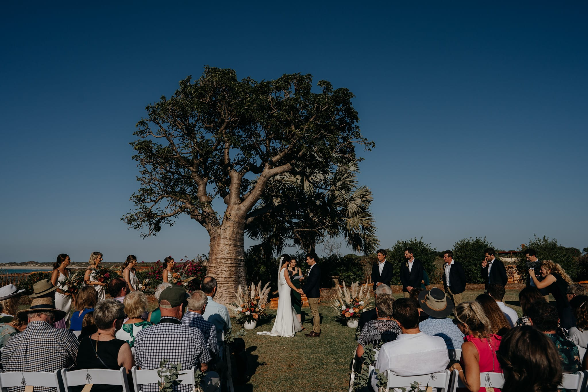 Gnarangannie Gantheaume Point wedding ceremony