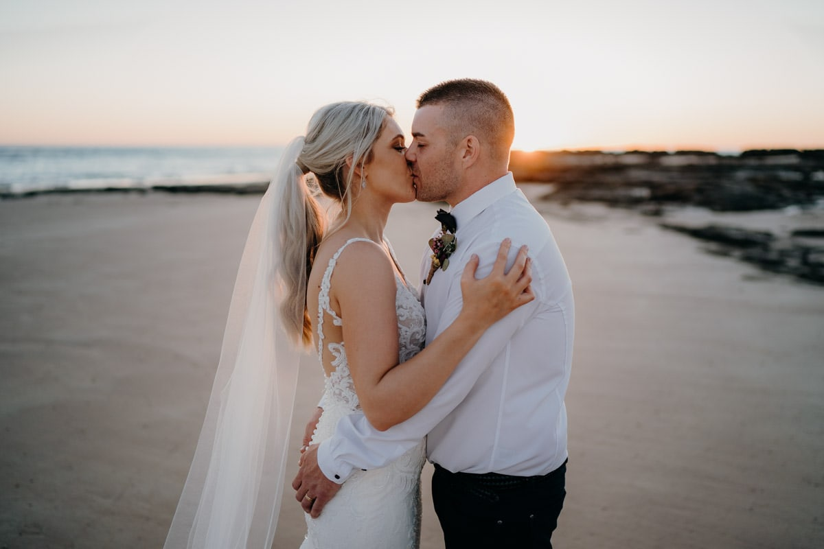 Intimate Beach Wedding at Entrance Point