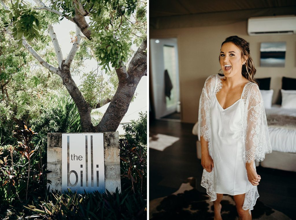Broome bride at Billi Resort