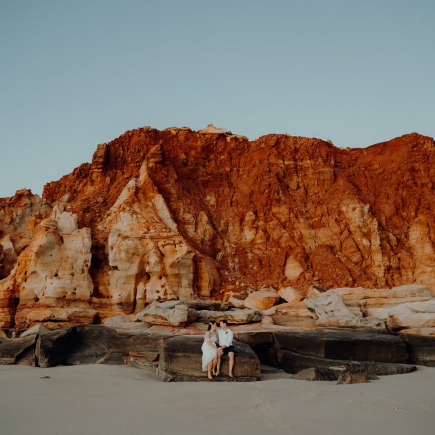Broome elopement wedding at Cape Leveque