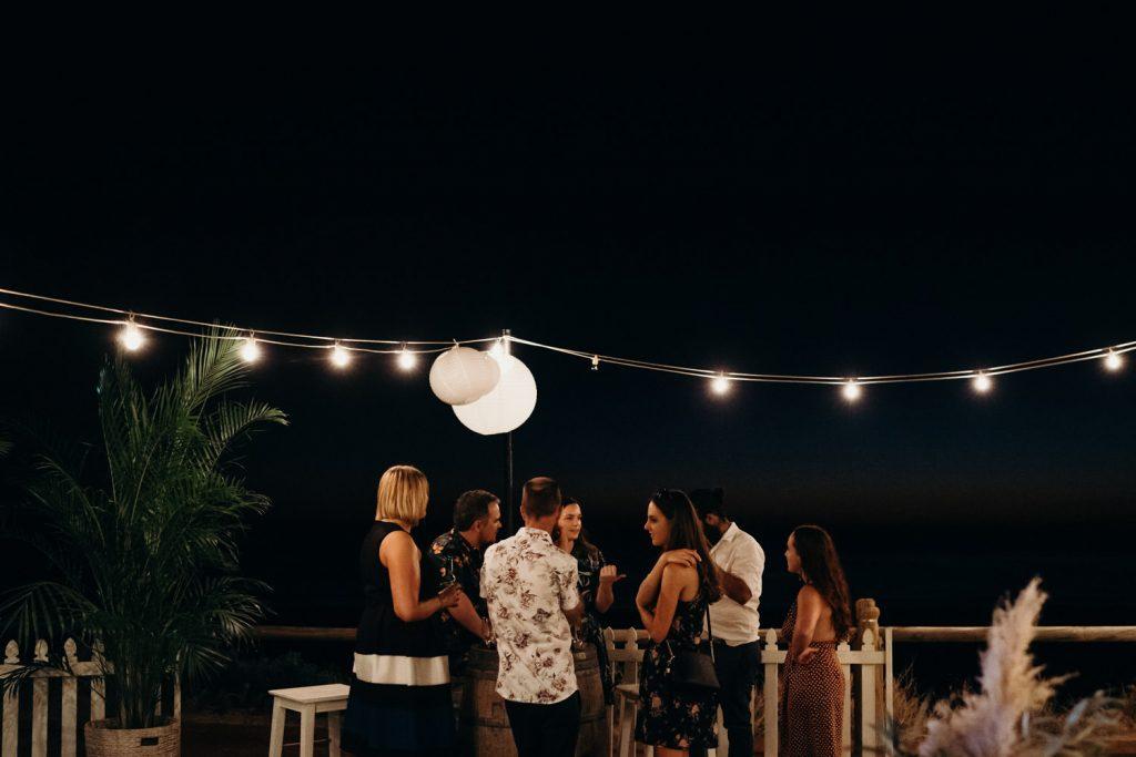 Broome Life Saving Club wedding reception