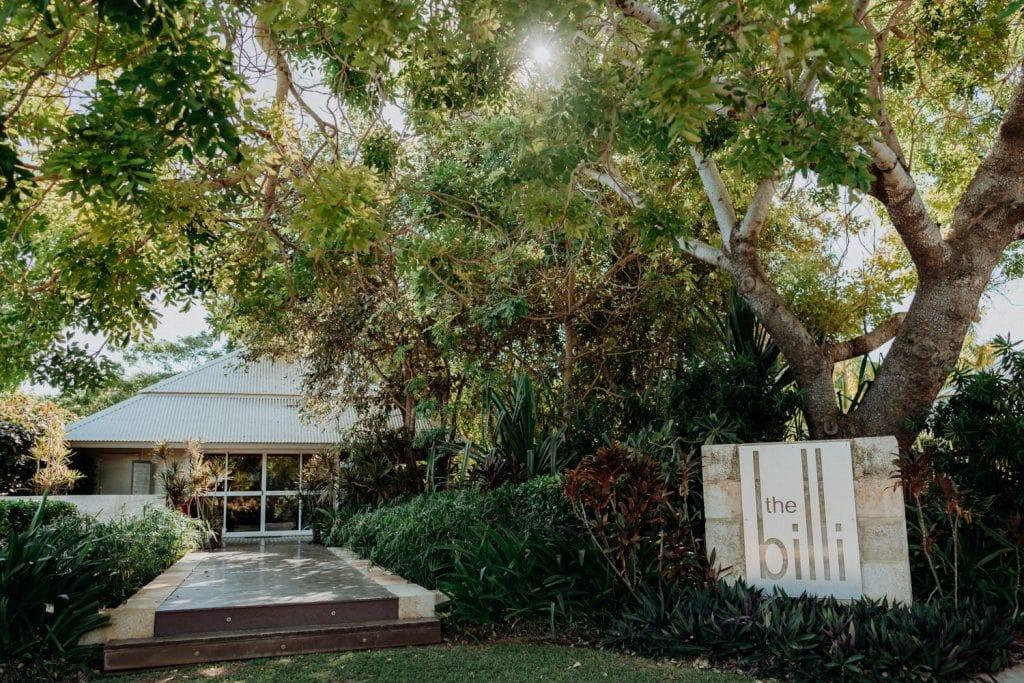 Billi Resort reception venue for Broome Entrance Point Wedding